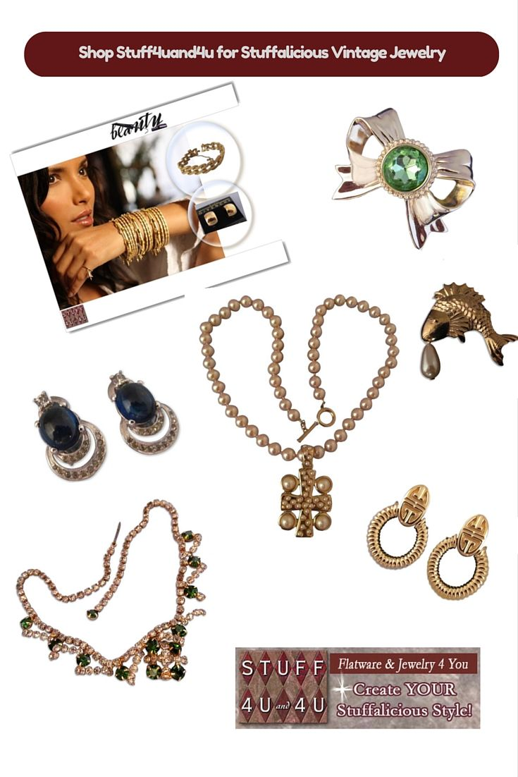 We have Stuffalicious Vintage Jewelry!    Create YOUR Stuffalicious Style!