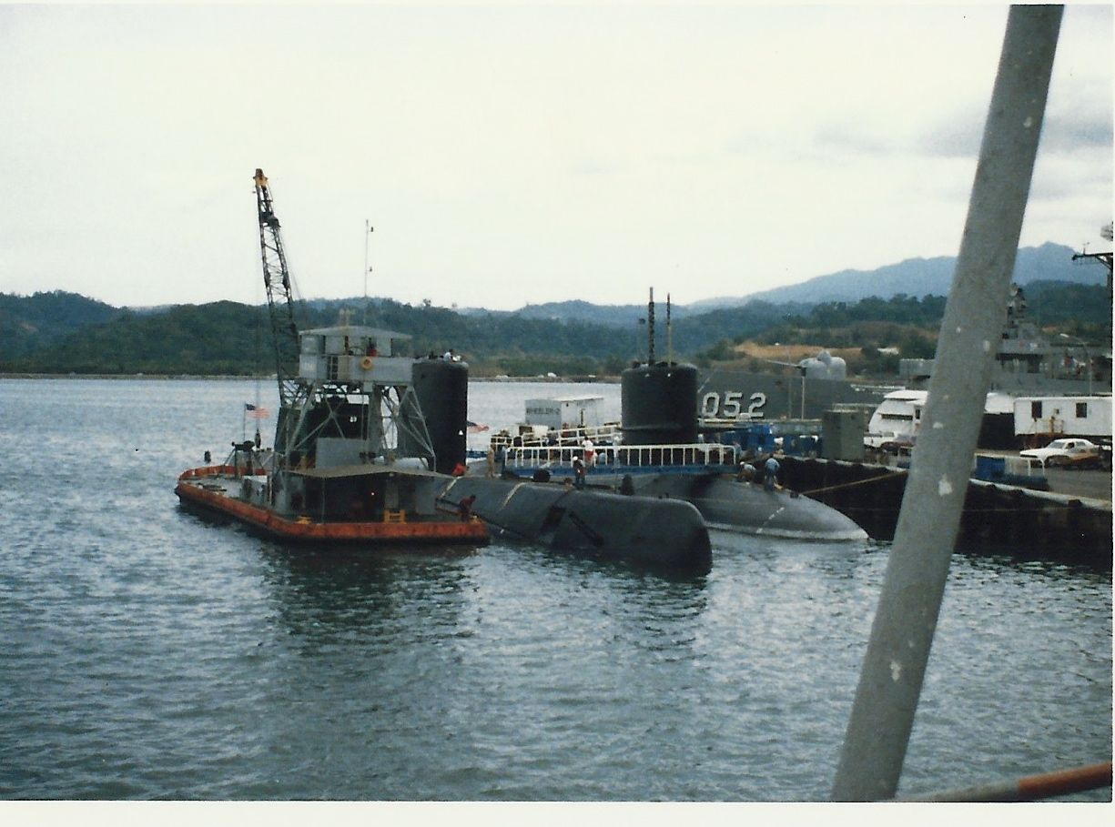 Submarines In Port Subic Bay Naval Base The Greatest