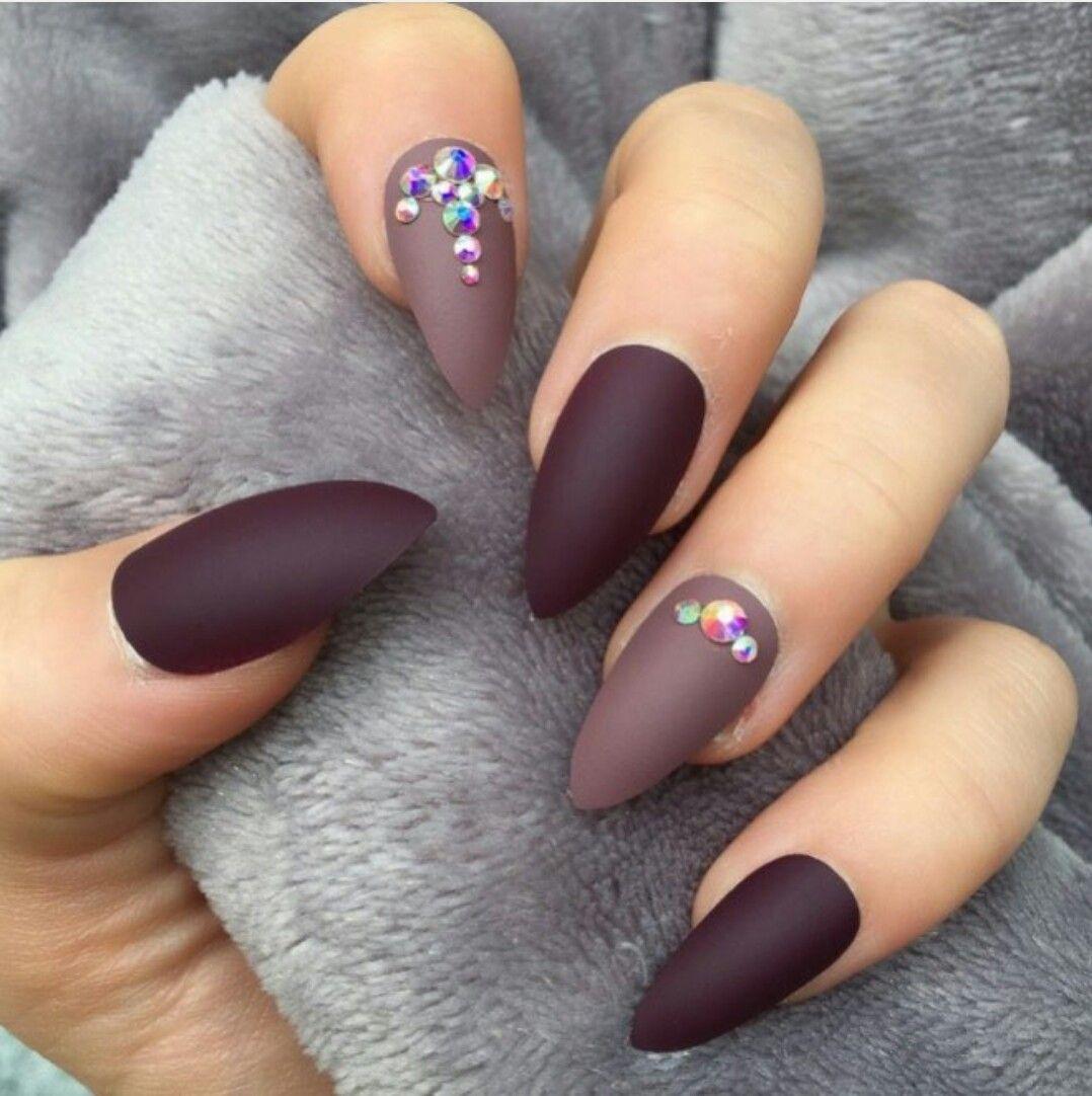 Pin by hawa mukri on Nail art | Pinterest | Pink nails, Matt nails ...