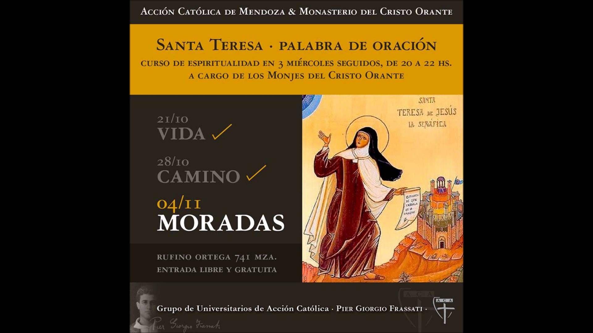 "R.P. Oscar - Tercer conferencia - ""Moradas"" de Santa Teresa de Jesús"