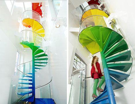 Ab Rogers Design - Rainbow House