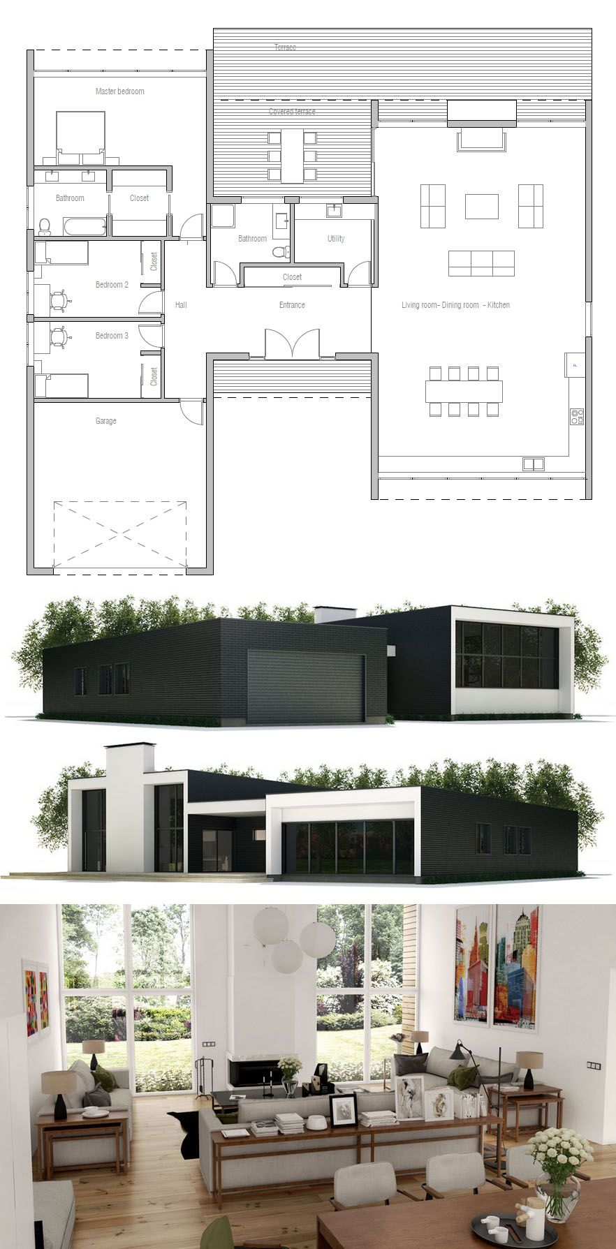 Architecture home plans house designs also projetos