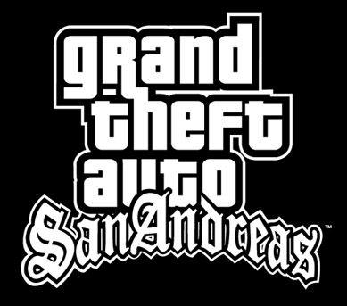 Grand Theft Auto San Andreas Logo Gambar Stiker Putraku