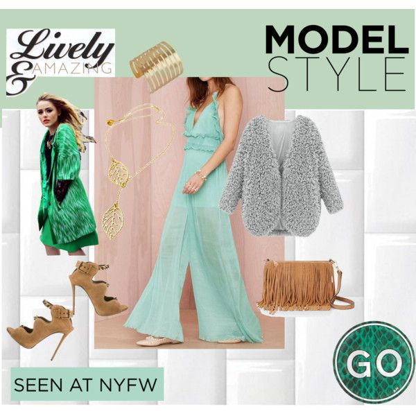 Jumpsuits, ruffles and fringes spell NYFW! Splash some sunshine with fresh colors and you will be a hit! | Lookbook Store Outfit Ideas