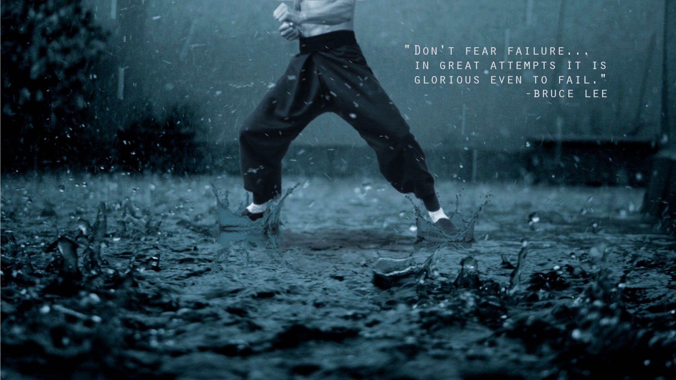 Martial Arts Quotes Wallpaper Motivatie