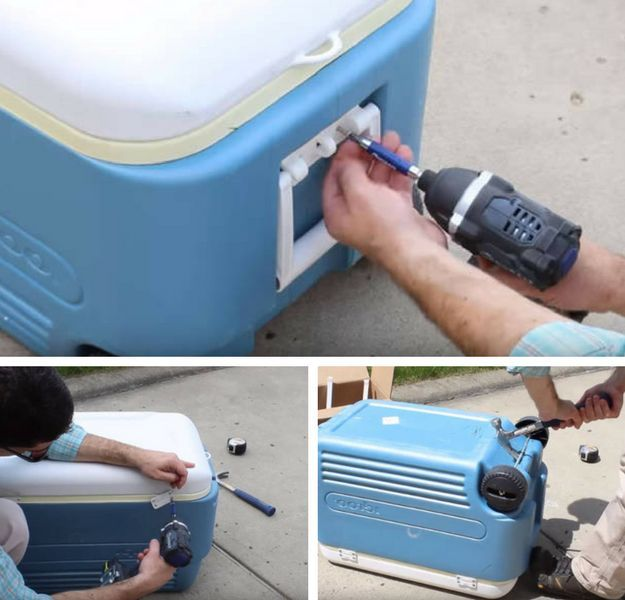 Diy Cooler Box Diy Cooler