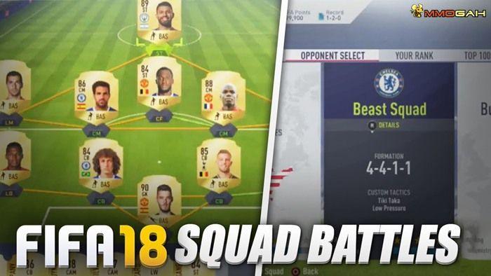 Squad Battles Reward Squad Battle Starting From The Bottom