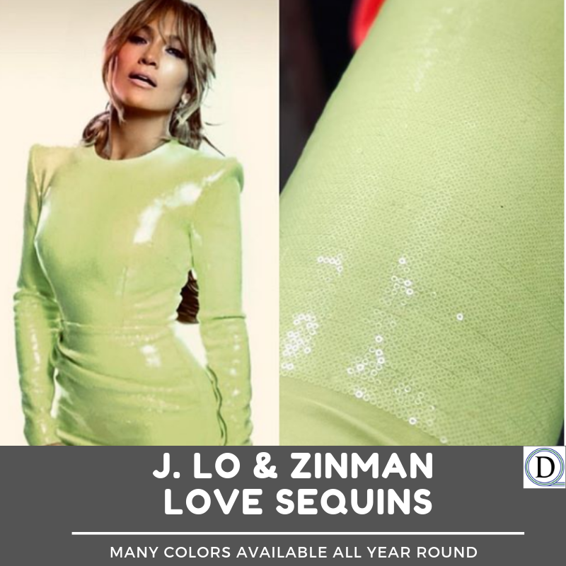 Zinman Textiles Published by Zin Tex · March 28 at 11:31 AM ·  Jennifer Lopez looks great approaching her 50th birthday. How many are going to the It's my Party Tour to celebrate with her?  #jenniferlopez #50th #birthday #tour #sequins #fashiondesigner #musicconcert #jlo #musictours #itsmyparty
