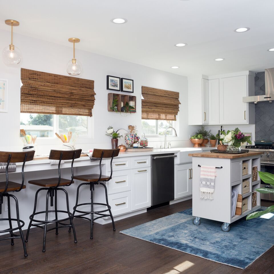 Light Bright Kitchen As Seen On Hgtv S Hiddenpotential By