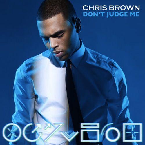 Chris Brown – Don't Judge Me (single cover art)