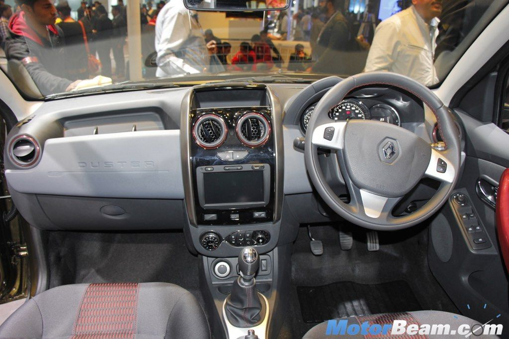 Renault Duster RXS Gets Touchscreen, Airbags (With images