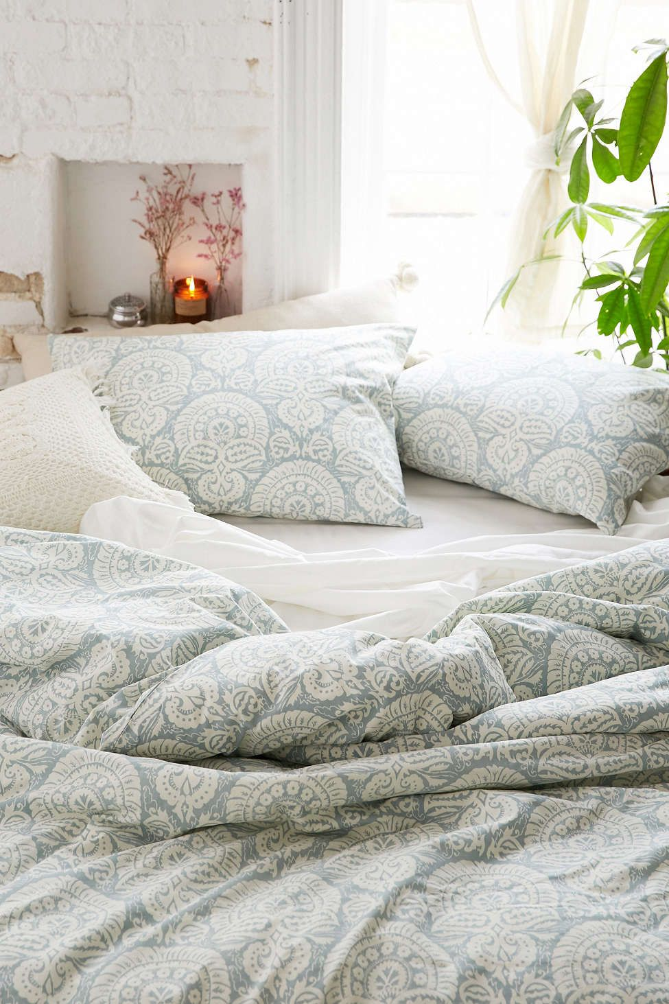 Urban Outfitters Bettwäsche Solid Sheet Set Home