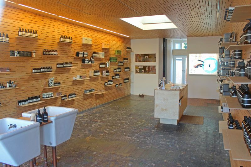 Aesop 1504 Abbot Kinney products for hair, skin and body # ...