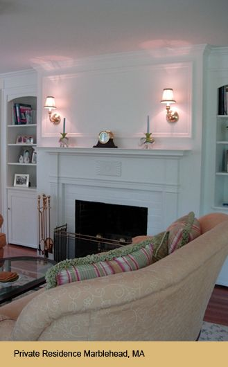 Wall Sconce Over Fireplace In Family Room Livingroom Family Room Lighting Family Room