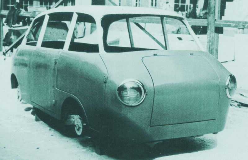 og 1956 57 volkswagen vw porsche type 700 one box family car project as the prototype. Black Bedroom Furniture Sets. Home Design Ideas