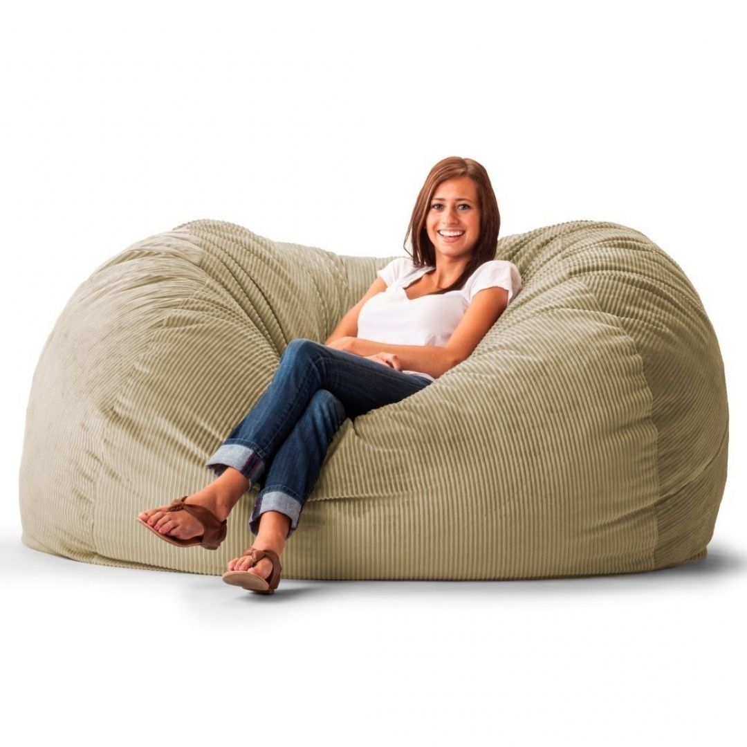 Exclusive Extra Large Bean Bag Chairs Furniture For Home Furniture Idea From Extra Large Bean Bag Cha Bean Bag Chair Large Bean Bag Chairs Extra Large Bean Bag