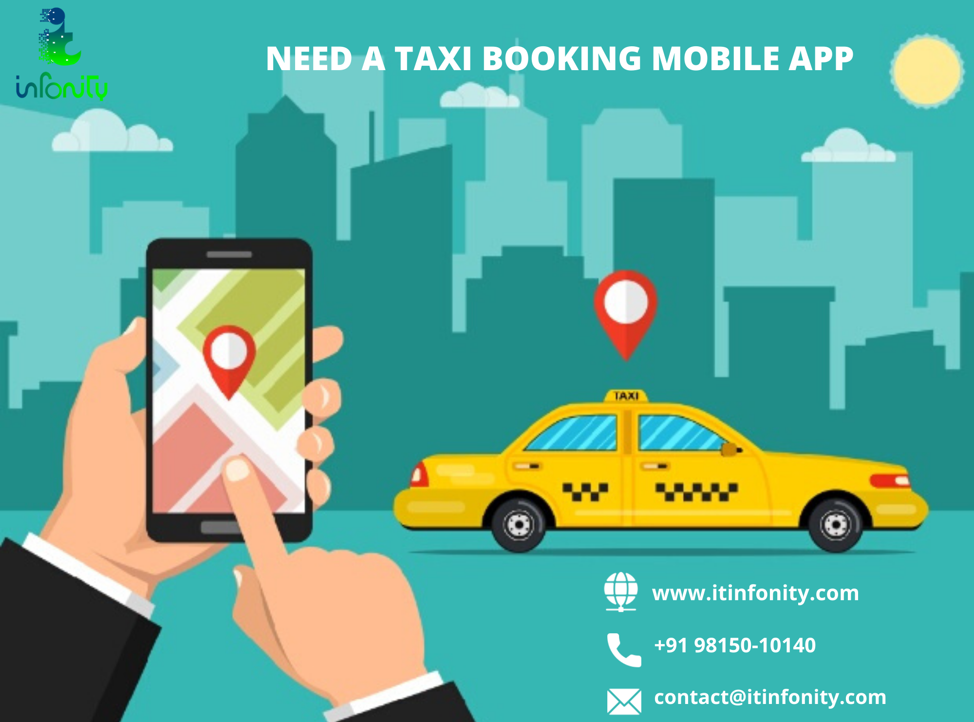 Are You Searching For A Cab Taxi Booking Mobile Application For