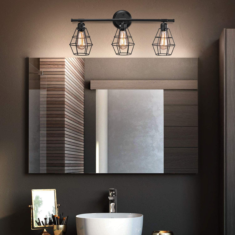 Farmhouse Bathroom Vanity Lights & Rustic Vanity Lights