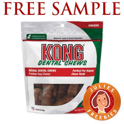 Free Sample of Kong Dental Chews Free Stuff by Mail Pinterest - free mail sample
