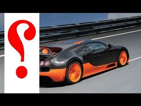 هل تعلم البوغاتي فيرون هل هي أسرع سياره في العالم Youtube Sports Car Car