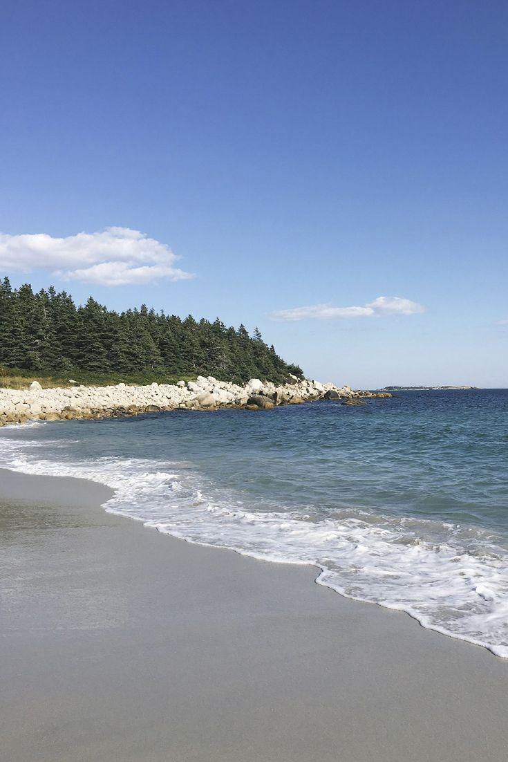 Crystal Crescent Beach Halifax Nova Scotia - Blush & Pine