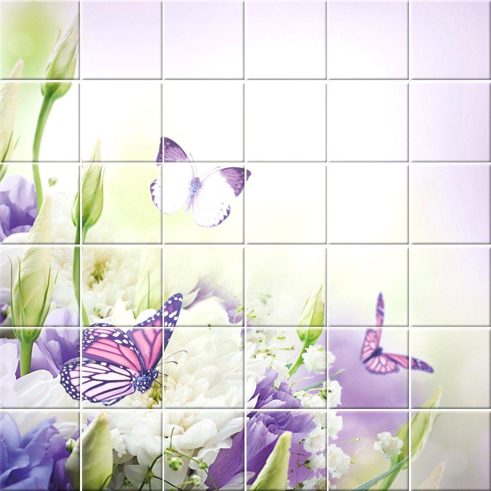 Piastrelle Cucina Con Fiori piastrelle per bagno con fiori con piastrelle bagno decorate