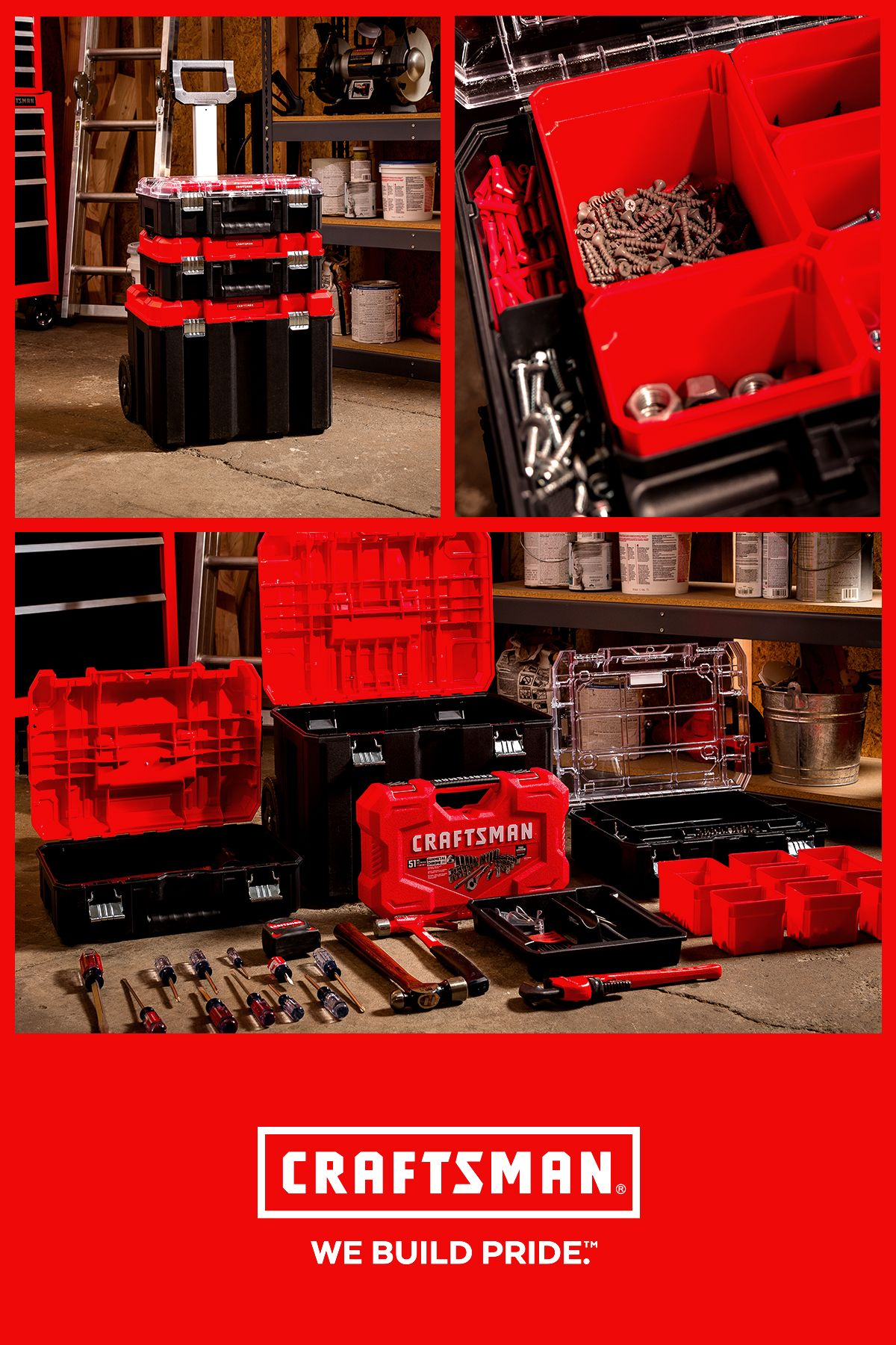 If Your Project Can T Come To Your Garage Bring Your Garage To Your Project The 20 In Craftsman Versastack System To Craftsman Mobile Garage Craftsman Tools