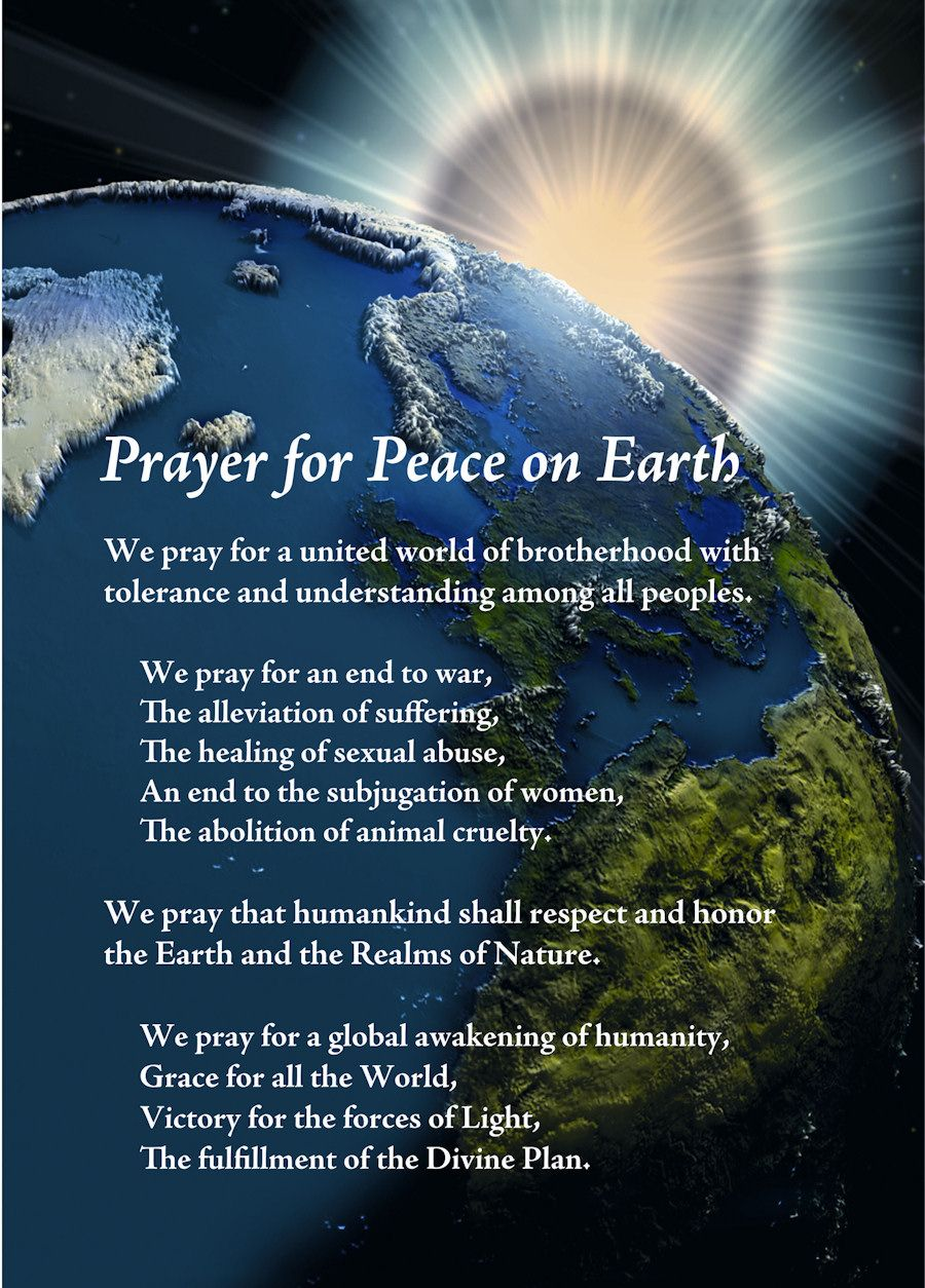 Prayer For Peace On Earth Wild Woman Sisterhood