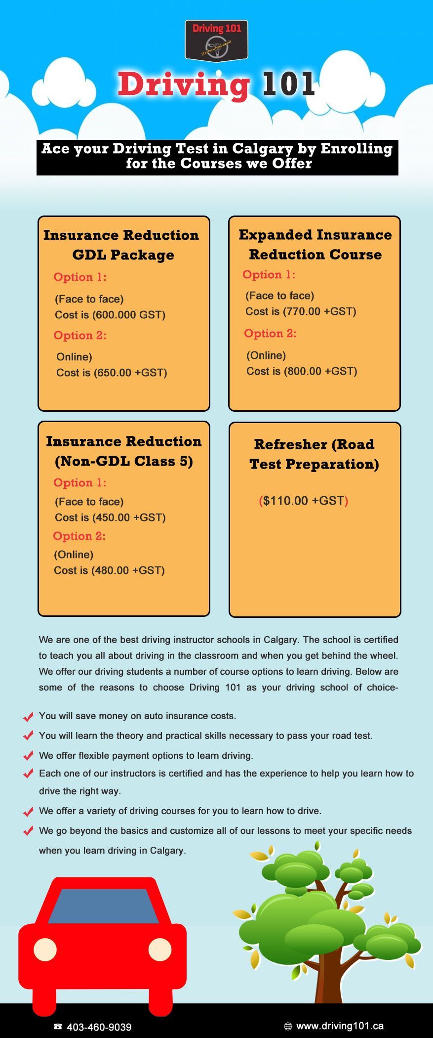 Come And Ace Your Driving Tests In Calgary By Enrolling The Courses