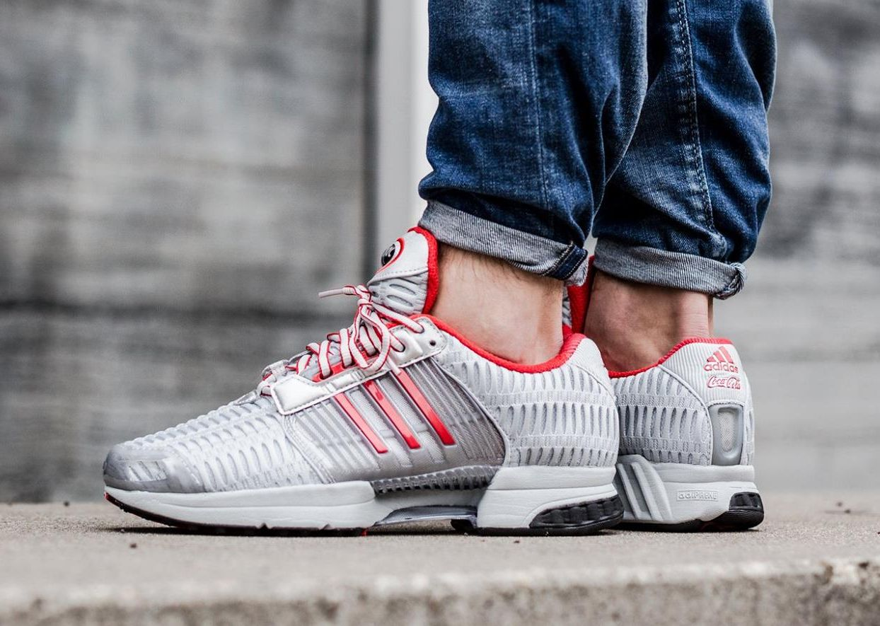 best service d8464 7c682 Basket Adidas Climacool 1 Coca Cola Light Metallic Silver Red (1)