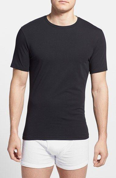 Men's Bread & Boxers Stretch Cotton Crewneck T-Shirt