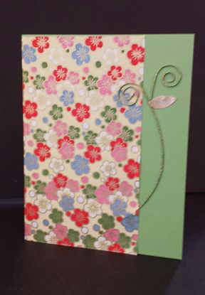 Pastel Sakura Panel Card Variation | Hanko Designs