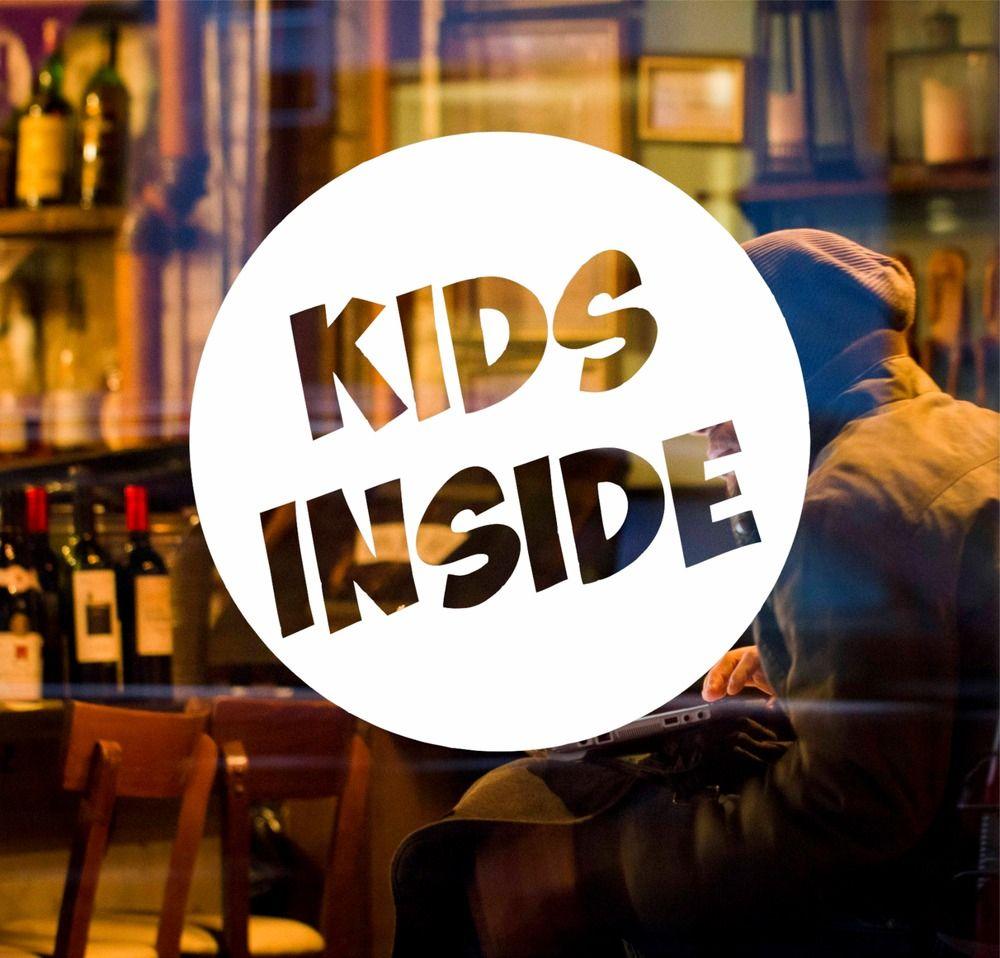 Kids Inside Car Sticker Funny Novelty On Board Child Baby Safety Warning Sign [ 958 x 1000 Pixel ]