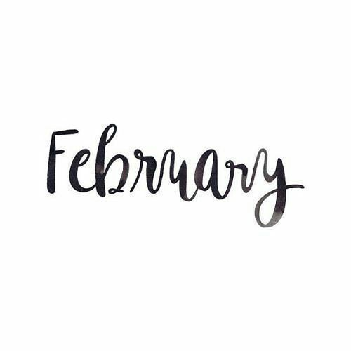 FEBRUARY! I don't normally do these 'hello   diy   February