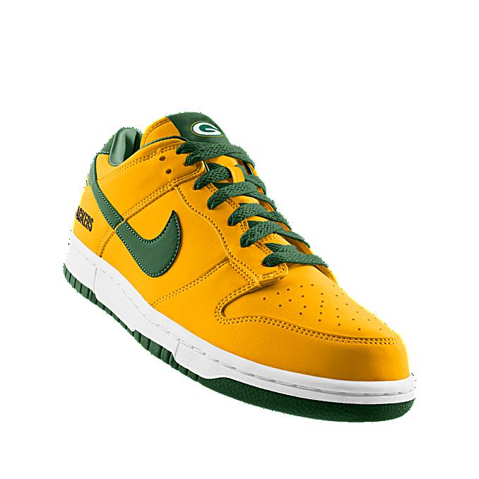 Custom Nike Dunk Low (NFL Green Bay) iD Shoe