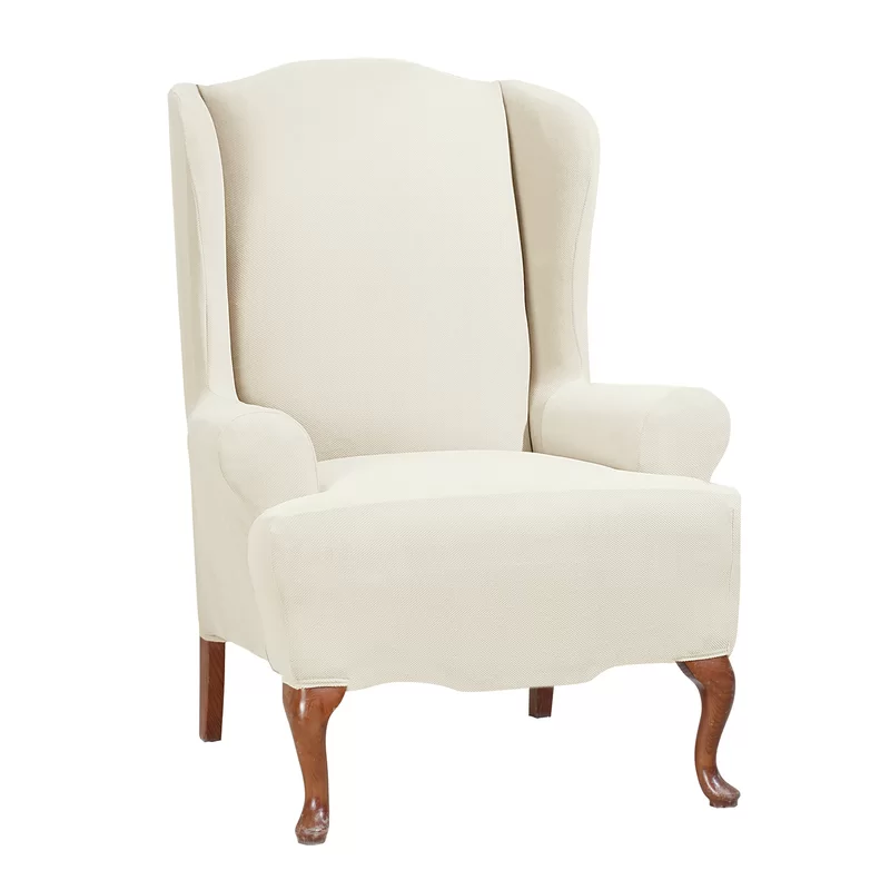 Stretch TCushion Wingback Slipcover in 2020