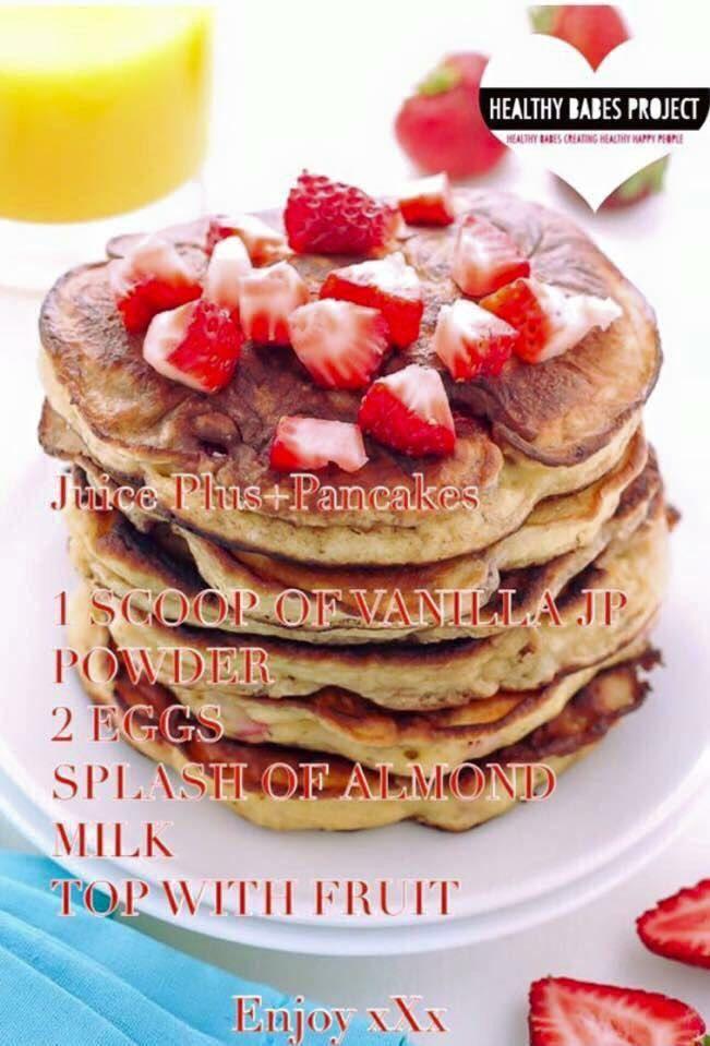 Ongekend Juice Plus Pancakes | Juice plus shakes, Juice plus, Shake recipes WM-98