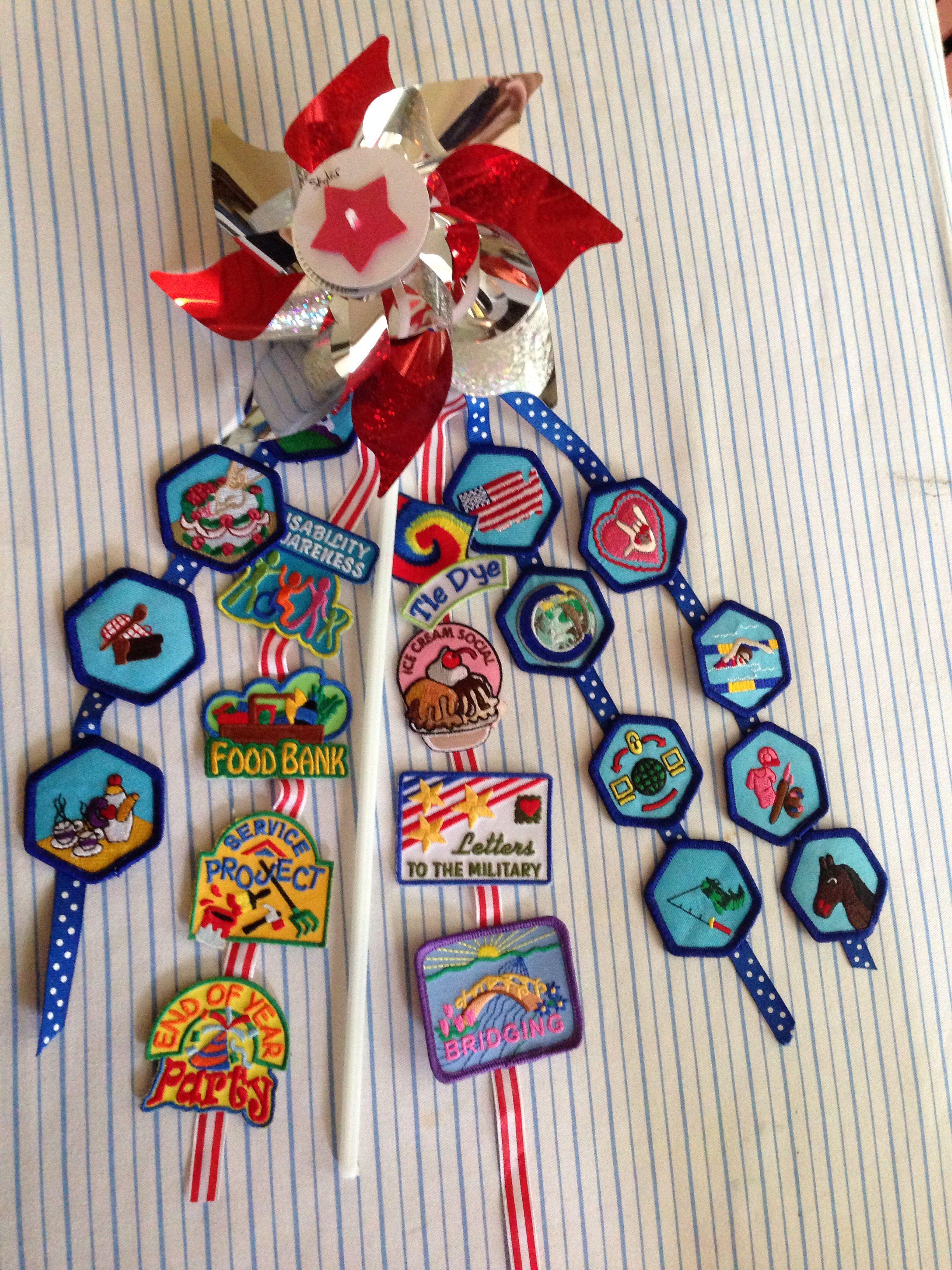 Our Badge Presentation Pinwheels Less Than 1 50 Per Girl