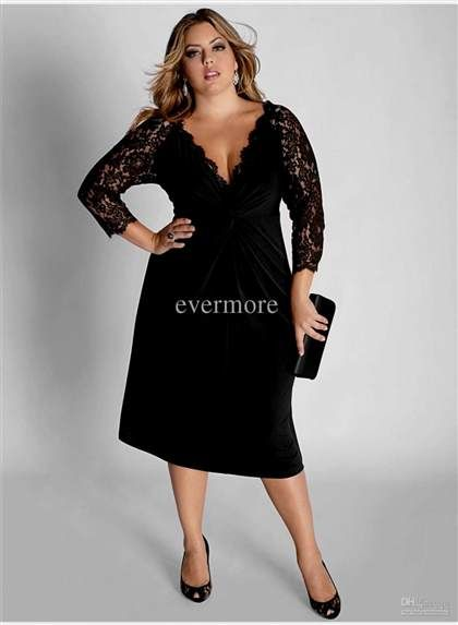 Nice Plus Size Club Dresses With Sleeves 2017 2018 Fashion Ideas