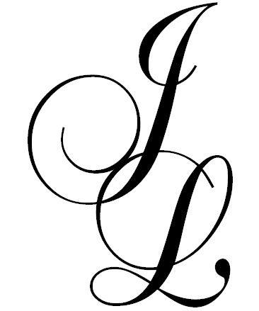 Monogram J L J Pinterest Tatuaje Inicial Tatuaje De Infinito Con Nombres Letras Para Tatuajes