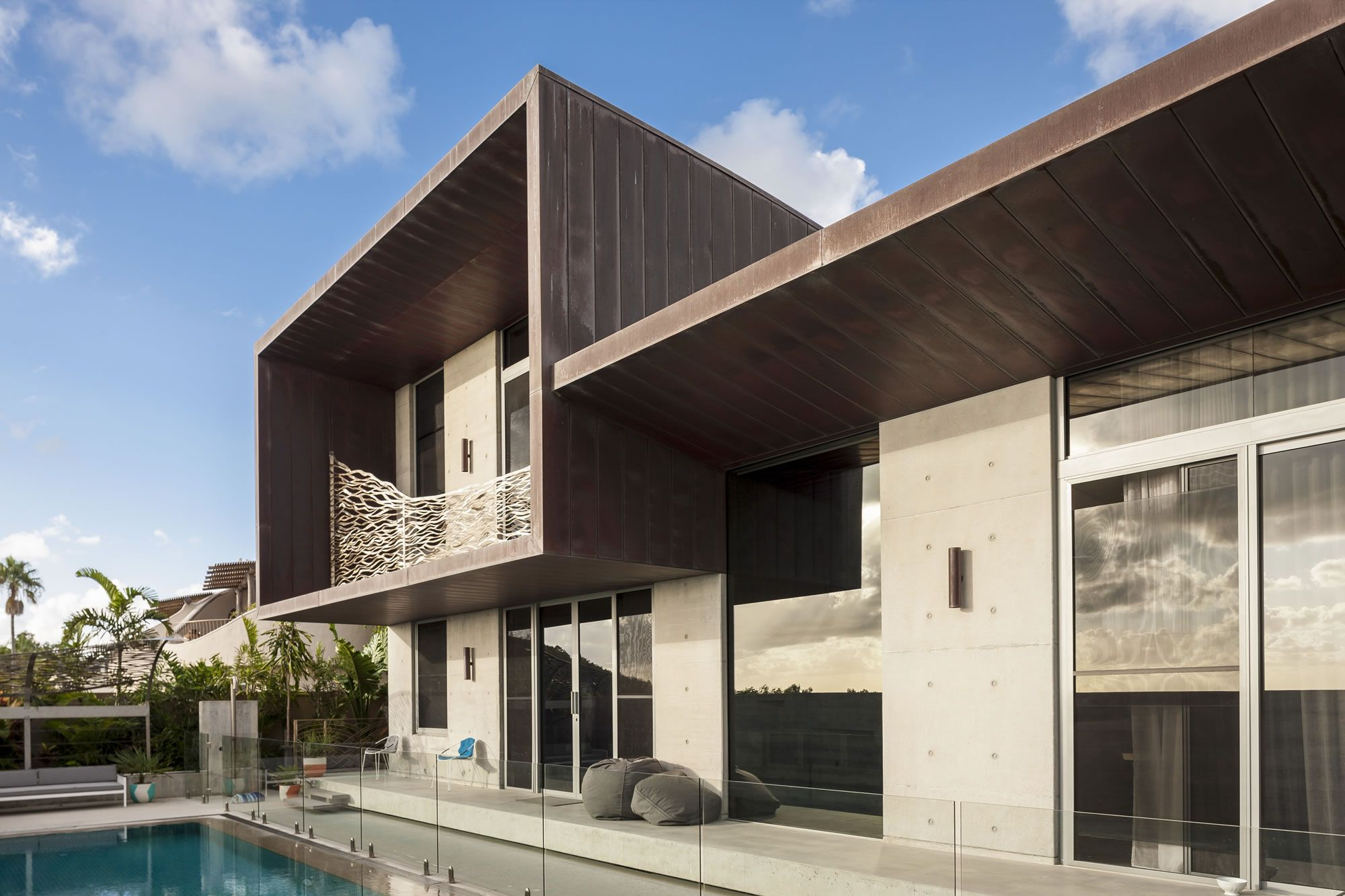 Flat Lock Panels with Recess | Copper roof, House styles ...