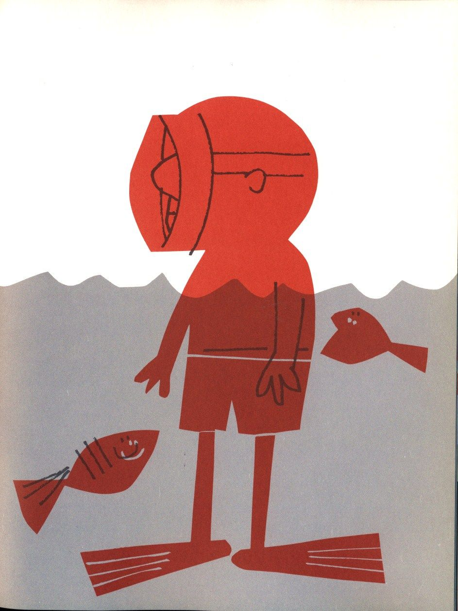 book illustration by Abner Graboff (1968)