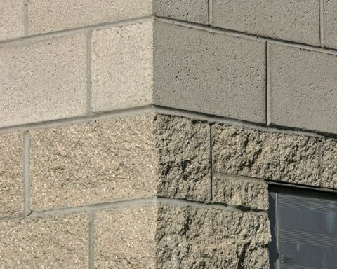 Split face concrete block buildings google search skd - Exterior concrete block finishes ...