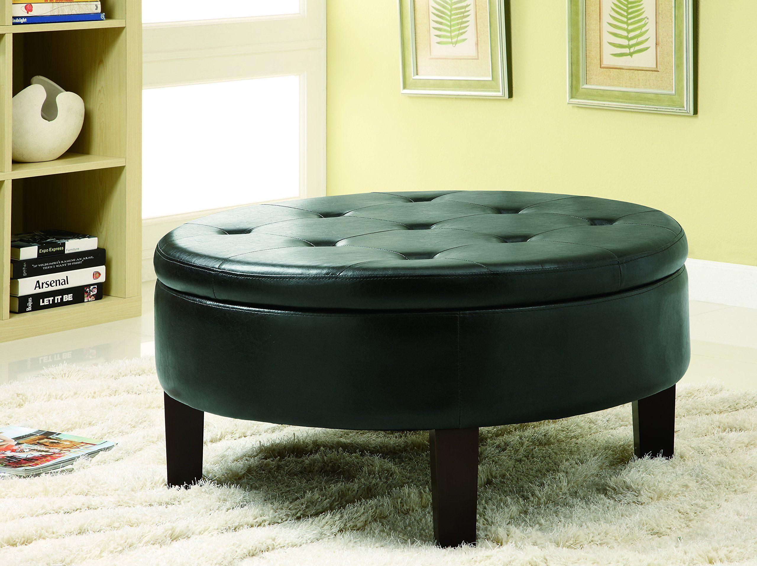 Coaster storage ottomandark brown coaster furniture in