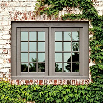 New house gets a 19th century makeover southern living country style and the window - How to paint exterior windows style ...