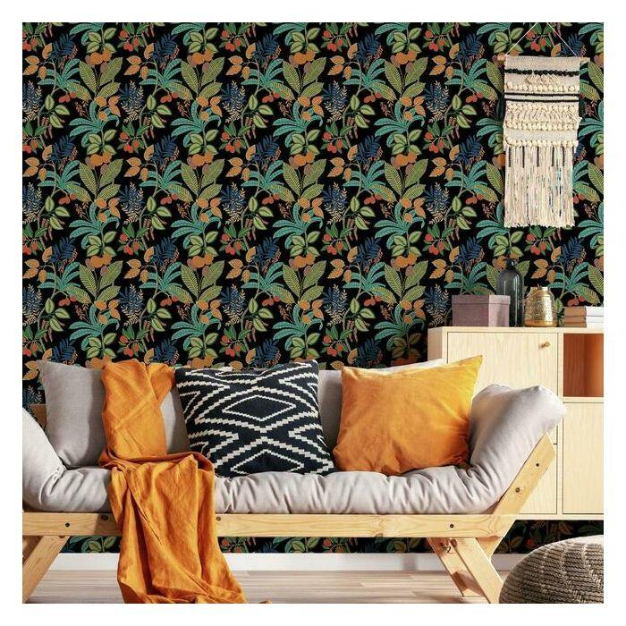Funky Jungle Peel And Stick Wallpaper In 2021 Peel And Stick Wallpaper Room Visualizer Wallpaper Roll