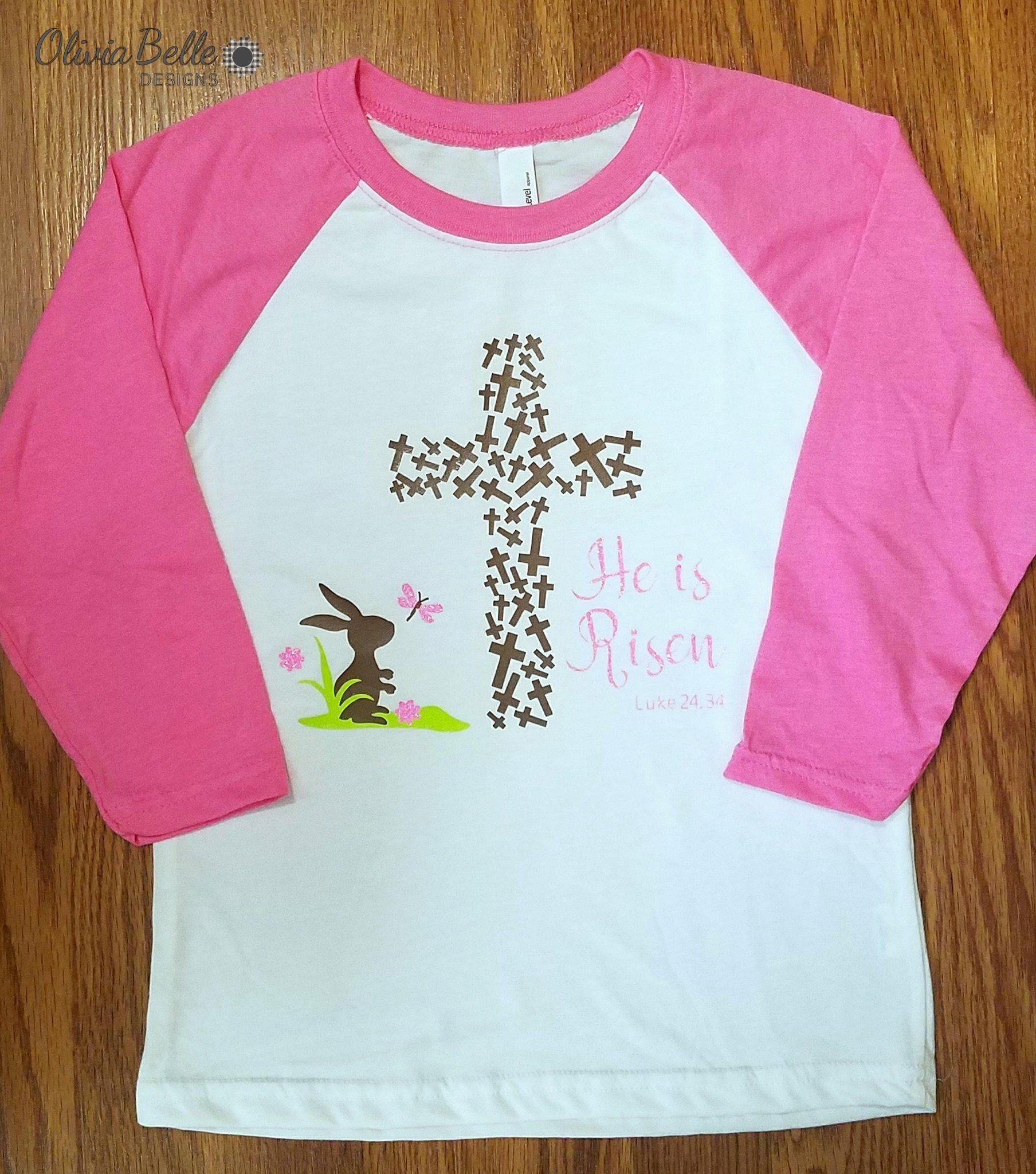 697ec539d He Is Risen Shirt, Girls He Is Risen Shirt, Girls Easter Shirt, Easter Shirt,  He Is Risen Easter Shirt, Easter Shirt For Girls, Christian by ...