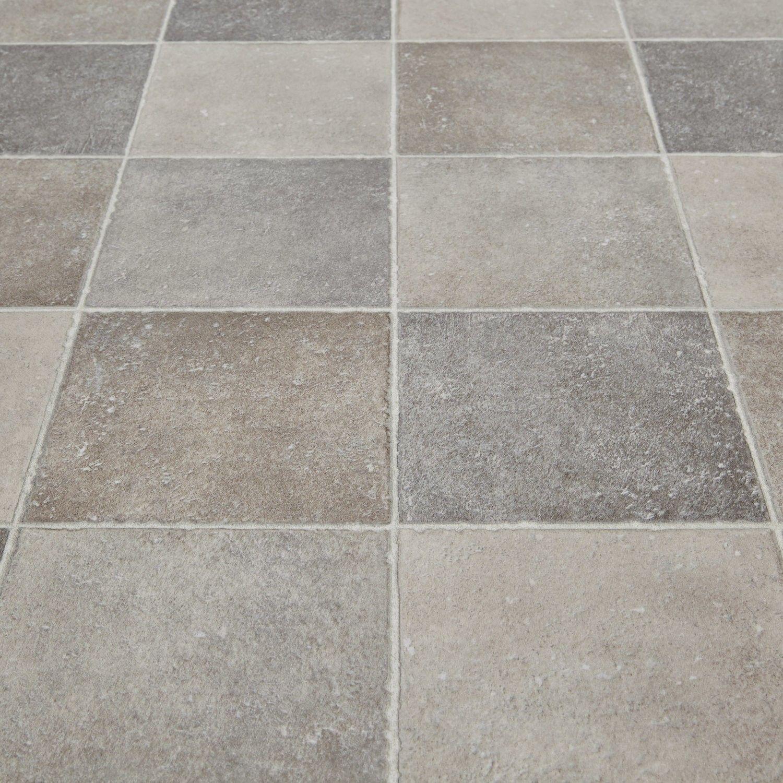 Softstep 102 Pompei Stone Tile Vinyl Flooring  Kitchen Alluring Vinyl Flooring Kitchen Design Ideas