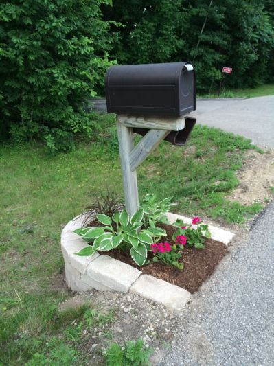 mailbox landscaping with culvert. Beautiful Culvert Mailbox Landscaping With Culvert In T