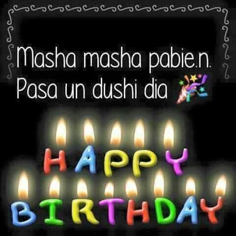 gefeliciteerd papiamento Hartelijk Gefeliciteerd Met Je Verjaardag In Het Papiaments   ARCHIDEV gefeliciteerd papiamento